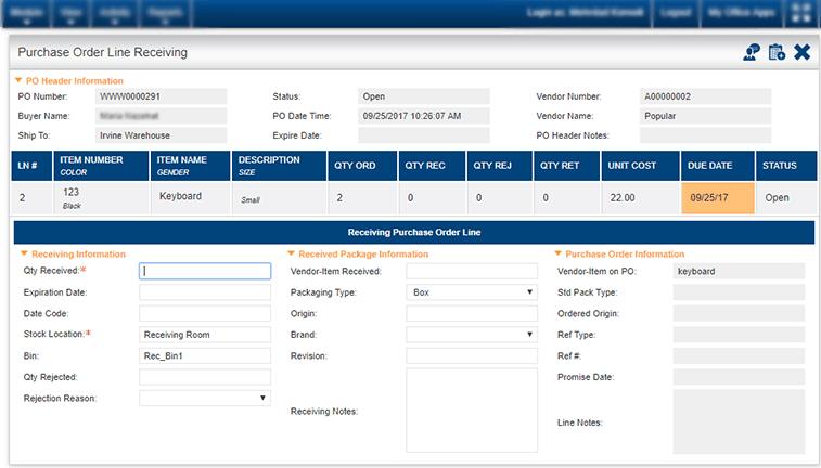 Logistics Management - Kechie ERP Software Solutions