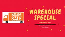 Warehouse Specials