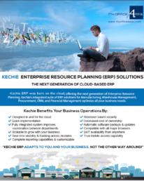 Kechie ERP - Next Generation Cloud Based ERP