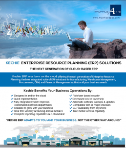 Kechie ERP - Next Generation Cloud Based ERP