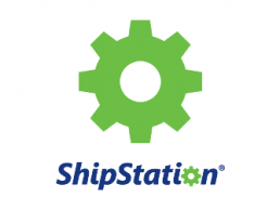 shipstation.com logo of a green gear over the words ship station